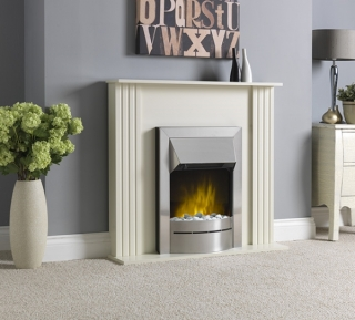 Robinson Willey KLX Suite Cream Electric Fire