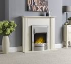 Image for Robinson Willey KLX Suite Cream Electric Fire - 51448