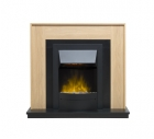 Image for Robinson Willey Roma KLX Suite Oak Electric Fire - 51431