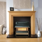 Robinson Willey Sahara Pewter Gas Fire - A97006 - LifeStyle