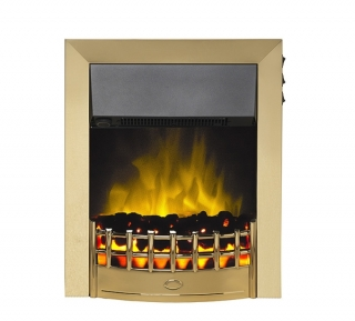 Robinson Willey SuperEco Classic II Bronze Electric Fire
