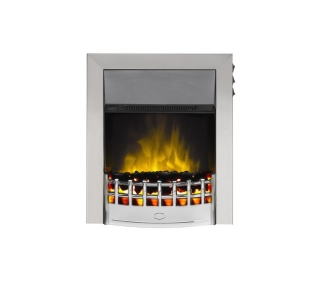 Robinson Willey SuperEco Classic II Chrome Electric Fire