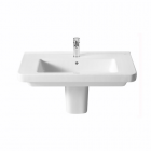 Image for Roca Dama-N Compact Pedestal (Semi, 350mm-600mm Basins) - 337782000