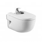 Image for Roca Meridian-N 1 Tap Hole Wall Mounted Bidet - 357245000