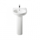 Image for Roca Meridian-N 500mm 1 Tap Hole Basin- 327244000