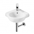 Image for Roca Meridian-N Compact 350mm 1 Tap Hole Corner Basin - 32724C000
