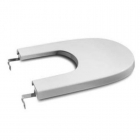 Image for Roca Meridian-N Compact Soft Close Bidet Cover - 8062AC004