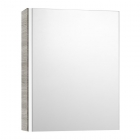 Image for Roca Mini 450mm Mirrored Cabinet Textured Grey - 856692156