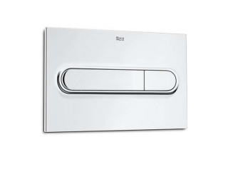 Roca PL1 Pro Operating Panel Flush Plate Chrome 890095001