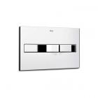 Image for Roca PL2 Pro Operating Panel Flush Plate Chrome 890096001
