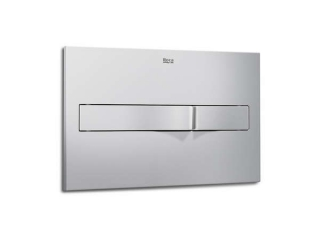Roca PL2 Pro Operating Panel Flush Plate Matt Chrome 890096002