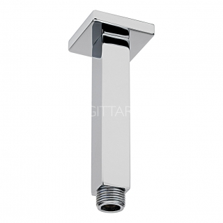 Sagittarius 120mm Cube Ceiling Arm - Chrome SH/264/C