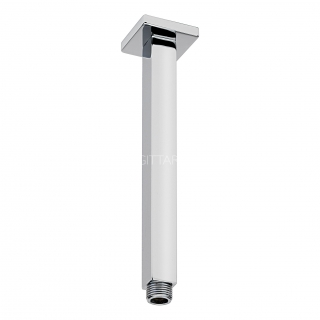 Sagittarius 240mm Cube Ceiling Arm - Chrome SH/265/C