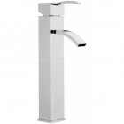 Sagittarius Arke - Basin Tap - Deck Mounted Extended Monobloc (With Klick Klack Waste) - Chrome - AR/109/C