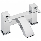 Sagittarius Arke - Bath Tap - Deck Mounted Bath Filler - Chrome - AR/104/C