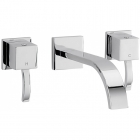 Sagittarius Arke - Bath Tap - Wall Mounted Bath Filler - Chrome - AR/127/C