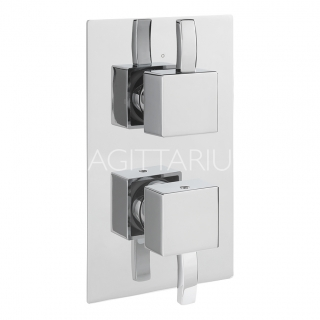 Sagittarius Arke Concealed Shower/Diverter - Chrome AR/177/C