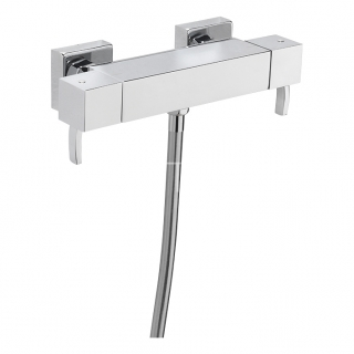 Sagittarius Arke Exposed Thermostatic Shower Valve - Chrome AR/168/C