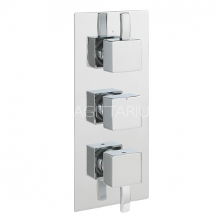 Sagittarius Arke Thermo Conc Shower/3 Way Diverter - Chrome AR/277/C