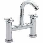 Sagittarius Avant - Bath Tap - Deck Mounted Bath Filler - Chrome - AV/404/C
