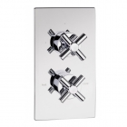 Sagittarius Avant Concealed Thermostatic Shower Valve with 2 Way Diverter - Chrome AV177C