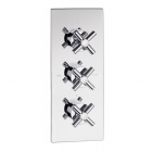 Sagittarius Avant Concealed Thermostatic Shower Valve with 3 Way Diverter - Chrome AV277C