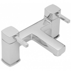 Sagittarius Axis - Bath Tap - Deck Mounted Bath Filler - Chrome - AX/104/C