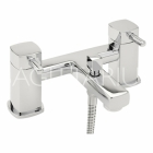 Sagittarius Axis - Bath Tap - Deck Mounted Bath Shower Mixer - Chrome - AX/105/C
