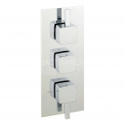 Image for Sagittarius Axis Thermo Conc Shower/3 Way Diverter - Chrome AX/277/C