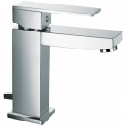 Sagittarius Blade - Basin Tap - Deck Mounted Monobloc (With Klick Klack Waste) - Chrome - BL/106/C