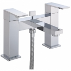 Sagittarius Blade - Bath Tap - Deck Mounted Bath Shower Mixer (With No1 Kit) - Chrome - BL/105/C