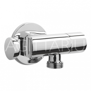 Sagittarius Deluxe Isolating Valve With Handset Holder - Chrome SH/396/C