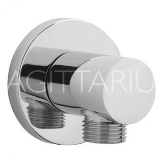 Sagittarius Deluxe Wall Shower Outlet - Chrome SH/177/C