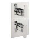 Image for Sagittarius Eclipse Concealed Thermostatic Shower Valve - Chrome EC/172/C