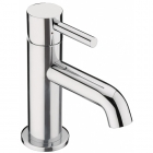 Sagittarius Ergo - Basin Tap - Deck Mounted Cloakroom Monobloc (With Klick Klack Waste) - Chrome - EL/306/C