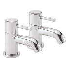 Sagittarius Ergo - Basin Tap - Deck Mounted Cloakroom Monobloc (Without Klick Klack Waste) - Chrome - EL/308/C