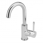 Image for Sagittarius Ergo - Basin Tap - Deck Mounted Monobloc (With Side Lever & Klick Klack Waste) - Chrome - EL/206/C