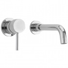 Sagittarius Ergo - Basin Tap - Wall Mounted 2 Hole Mixer (Concealed) - Chrome - EL/325/C