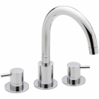 Image for Sagittarius Ergo - Bath Tap - Deck Mounted 3 Hole Bath Filler - Chrome - EL/111/C