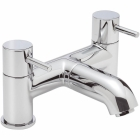 Sagittarius Ergo - Bath Tap - Deck Mounted Bath Filler - Chrome - EL/304/C