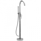 Image for Sagittarius Ergo - Bath Tap - Floor Mounted Bath Shower Mixer (With No1 Kit) - Chrome - EL/214/C