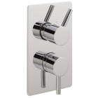 Sagittarius Ergo Concealed Thermostatic Shower Valve with 2 Way Diverter - Chrome EL177C