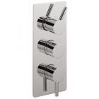 Sagittarius Ergo Concealed Thermostatic Shower Valve with 3 Way Diverter - Chrome EL277C