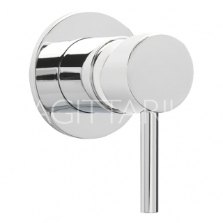 Sagittarius Ergo Lever Con Manual Shower Valve - Chrome EL/170/C