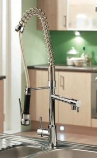 Sagittarius Ergo Lever Spray Tap in the kitchen
