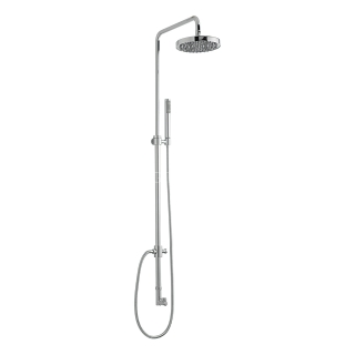 Sagittarius Ergo Rigid Riser Diverter & 200mm Head - Chrome SH/198/C