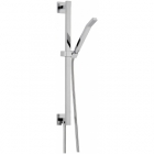 Sagittarius Ergo Shower Slide Rail Kit with Handset and Built-in Outlet - Chrome EV229C