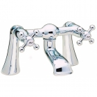 Image for Sagittarius Fantasy - Bath Tap - Deck Mounted Bath Filler - Chrome - FA/104/C