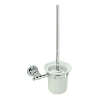 Sagittarius Florence Toilet Brush Holder - Chrome AC/658/C