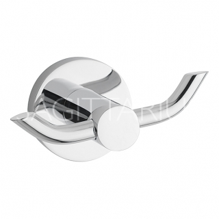 Sagittarius Geneve Robe Hook - Chrome AC/268/C